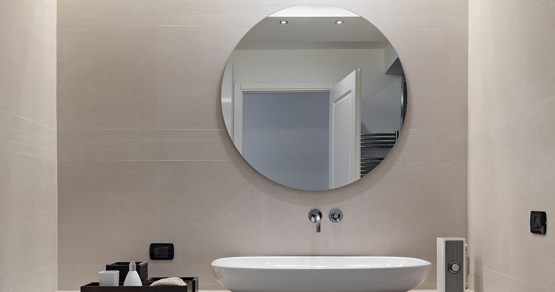 Spiegel Auf Mas : Badezimmerspiegel auf maß mit beleuchtung t